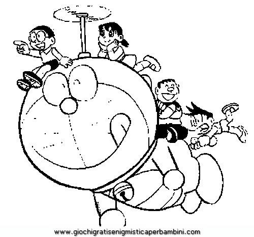 Doraemon Disegni Da Colorare Di Doraemon