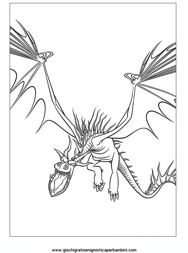 Disegni Da Colorare Dragon Trainer Disegni Da Stampare Gratis