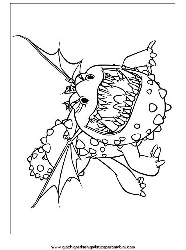 Molto dragon_trainer_15 Disegni da colorare per bambini FH08