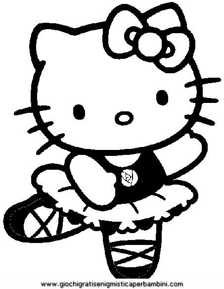 Immagini Di Hello Kitty Da Colorare E Stampare Disegni Di Natale 2019