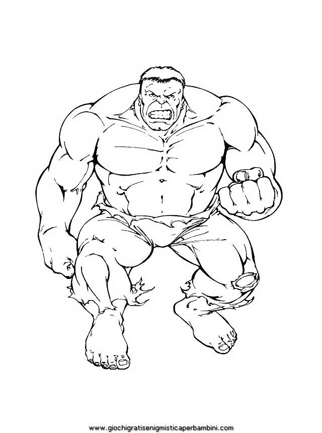 Hulk8 Disegni Da Colorare Per Bambini