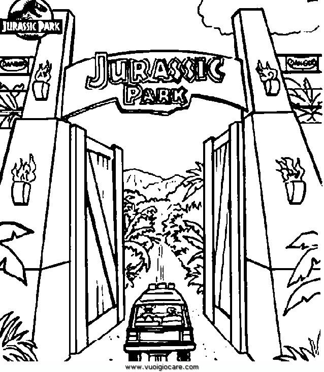 Disegni Da Colorare Di Jurassic World 2