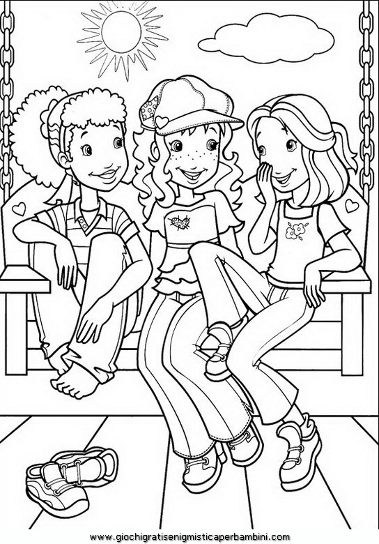 Holly hobbie 38 disegni da colorare per bambini for Holly hobbie coloring pages