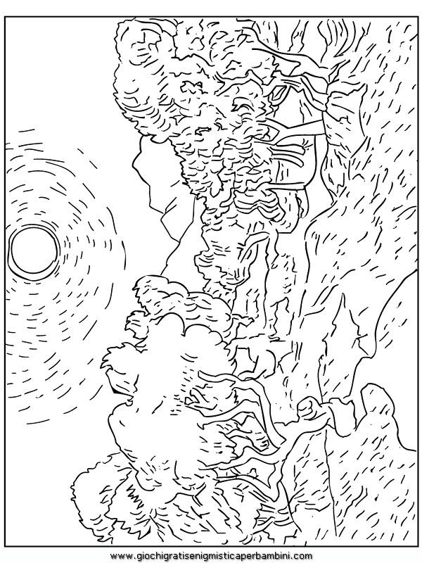 Coloriage van gogh oliviers gif disegni da colorare di arte for Disegni da colorare di van gogh